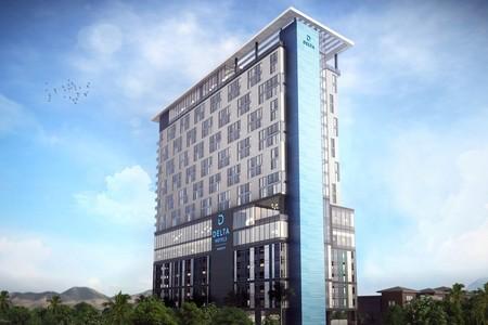 В Лас-Вегасе заложен первый камень в фундамент будущего отеля Delta Hotels by Marriott — фото 1