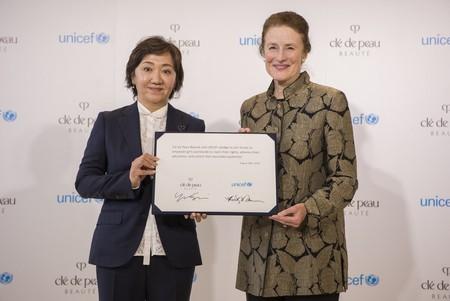 Партнерство Clé de Peau Beauté с ЮНИСЕФ обеспечит поддержку 6,5 млн девушек — фото 1
