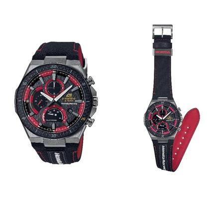 Casio и Honda Racing совместно разработали модель часов серии EDIFICE — фото 1