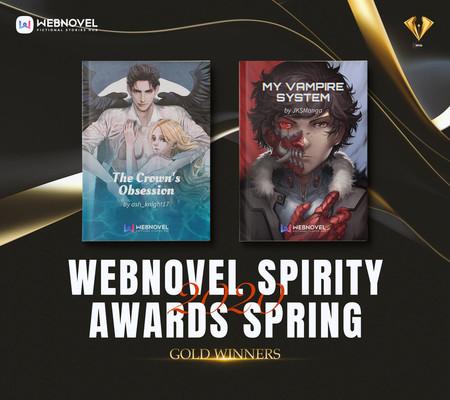 Названы победители конкурса Webnovel Spirity Awards Spring 2020 — фото 1