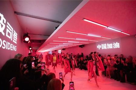 Дебют на Лондонской неделе моды BOSIDENG сопроводил призывом «GO CHINA!» — фото 1