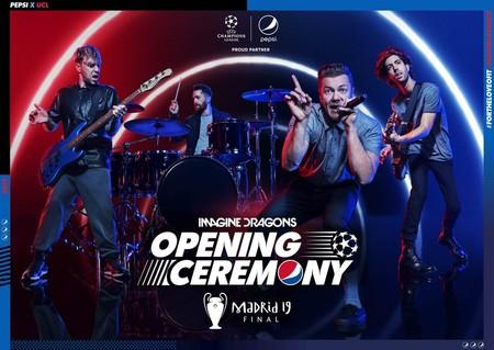 УЕФА и Pepsi® объявили о выступлении Imagine Dragons перед финалом Лиги чемпионов УЕФА — фото 1