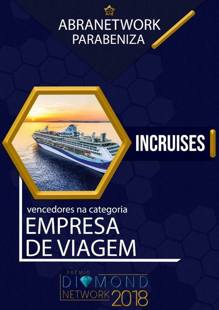 Премия Diamond Network Award от Abranetwork вручена inCruises International — фото 1