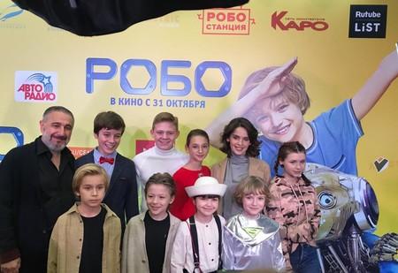 Лиза Анохина поддержала друзей-актеров на премьере «Робо» — фото 2