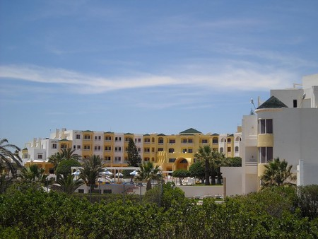 Отель Тапсус, город Махдия, Тунис