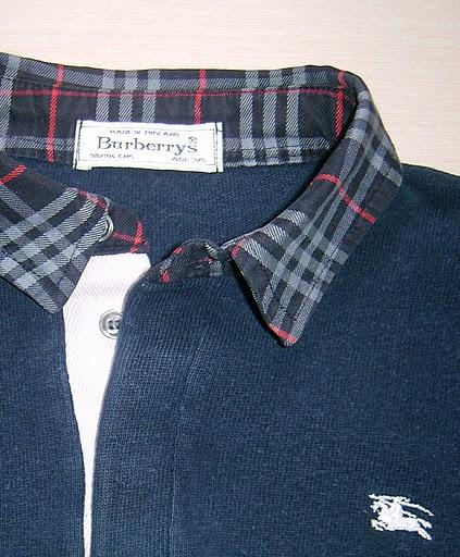 Спортивный стиль сорочки от <strong>Burberry London.</strong>