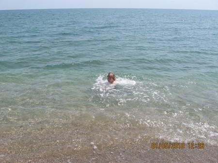 Холодная вода не пугает!
