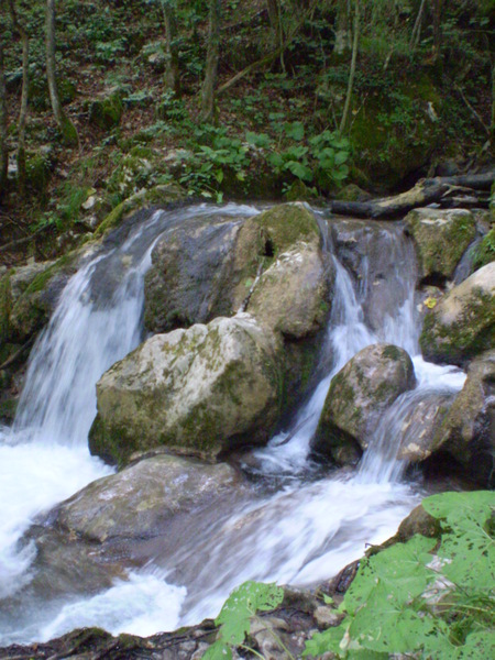 Водопадик на Таре