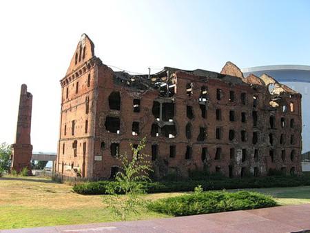 Дом Павлова. Разрушенная мельница