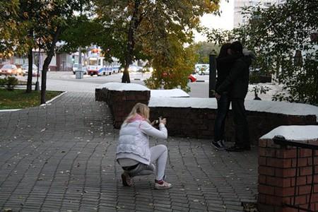 Московская осень в лицах... — фото 1
