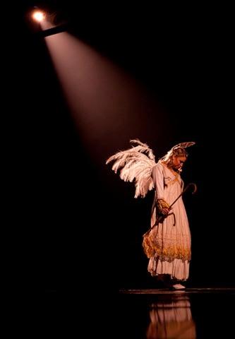 """Весёлые похороны старого клоуна или шоу """"Corteo"""", канадского цирка Cirque du Soleil. — фото 16"""