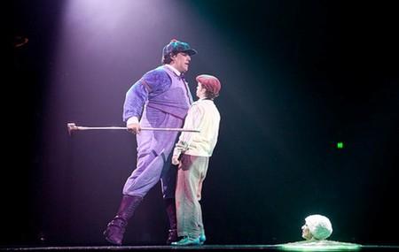 """Весёлые похороны старого клоуна или шоу """"Corteo"""", канадского цирка Cirque du Soleil. — фото 21"""