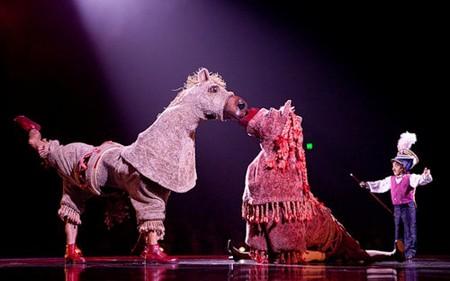 """Весёлые похороны старого клоуна или шоу """"Corteo"""", канадского цирка Cirque du Soleil. — фото 23"""