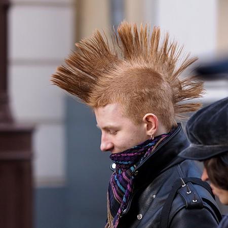 У некоторых даже от сегодняшнего мороза волосы дыбом встали...