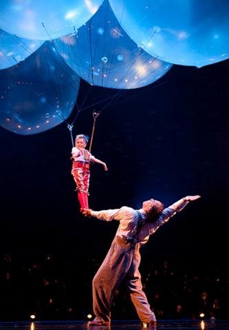 """Весёлые похороны старого клоуна или шоу """"Corteo"""", канадского цирка Cirque du Soleil. — фото 11"""