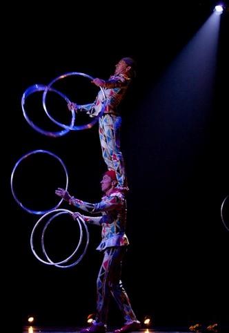 """Весёлые похороны старого клоуна или шоу """"Corteo"""", канадского цирка Cirque du Soleil. — фото 17"""