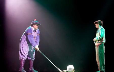 """Весёлые похороны старого клоуна или шоу """"Corteo"""", канадского цирка Cirque du Soleil. — фото 22"""