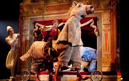 """Весёлые похороны старого клоуна или шоу """"Corteo"""", канадского цирка Cirque du Soleil. — фото 2"""