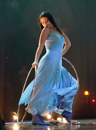 """Весёлые похороны старого клоуна или шоу """"Corteo"""", канадского цирка Cirque du Soleil. — фото 12"""