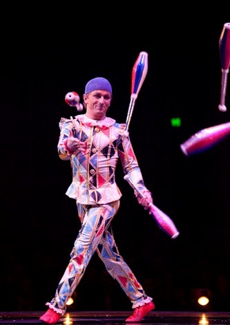 """Весёлые похороны старого клоуна или шоу """"Corteo"""", канадского цирка Cirque du Soleil. — фото 18"""