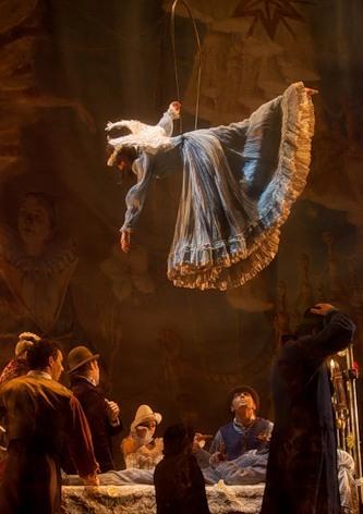 """Весёлые похороны старого клоуна или шоу """"Corteo"""", канадского цирка Cirque du Soleil. — фото 15"""