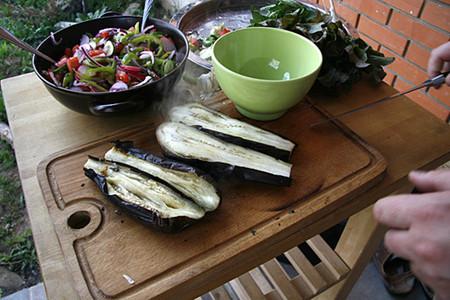 Блюдо выходного дня. Баранья нога  в лаваше с овощами — фото 4