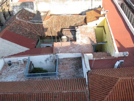 С крыши отеля...