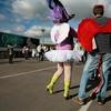 """Весёлые похороны старого клоуна или шоу """"Corteo"""", канадского цирка Cirque du Soleil."""