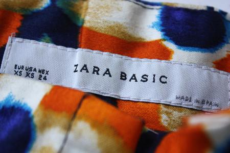 Моя первая вещь из магазина Zara, сшитая в Испании