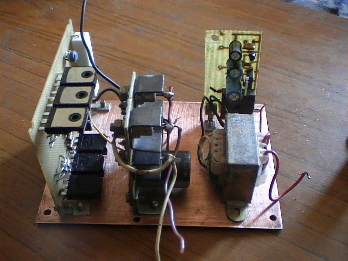 Частотный преобразователь для трёхфазного АД - фото 8.