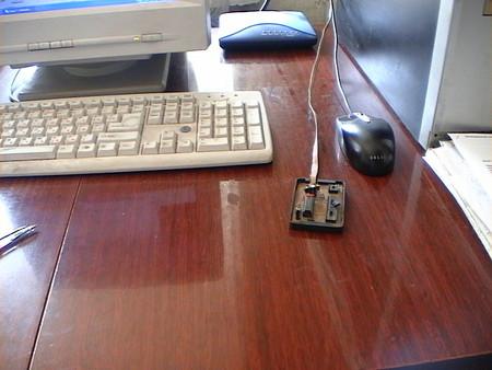 JDM-программатор в работе
