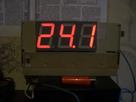 Уличный цифровой термометр — фото 5