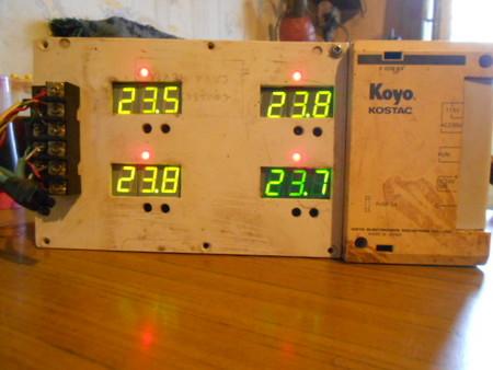 Что оказалось надёжней? Самодельный  4-точечный цифровой термометр — фото 9
