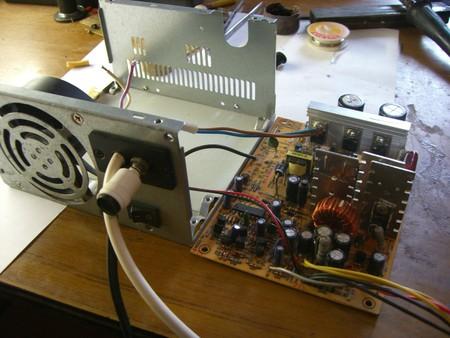 схема зарядного устройства из ATX - Практическая схемотехника.
