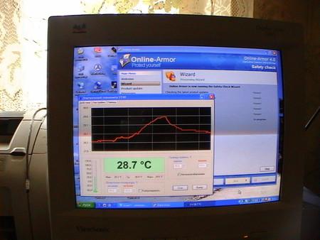 Диаграмма измерения температуры № 2