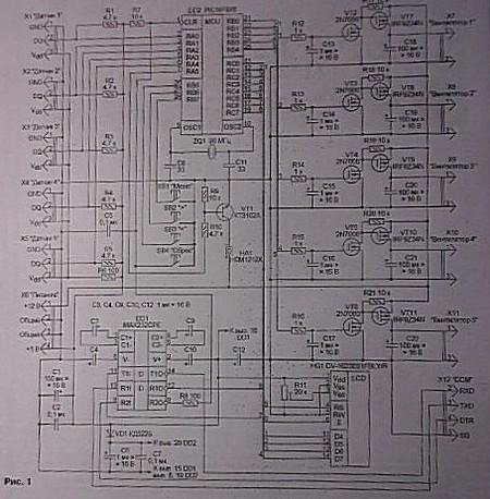 Пятиточечный электронный термометр — фото 6