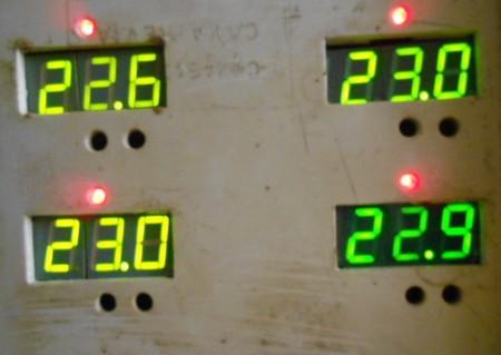 Что оказалось надёжней? Самодельный  4-точечный цифровой термометр — фото 8
