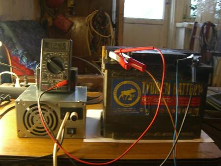 Автоматическое зарядное устройство из БП ПК.