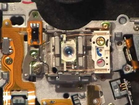Лазер из привода DVD-RW — фото 2