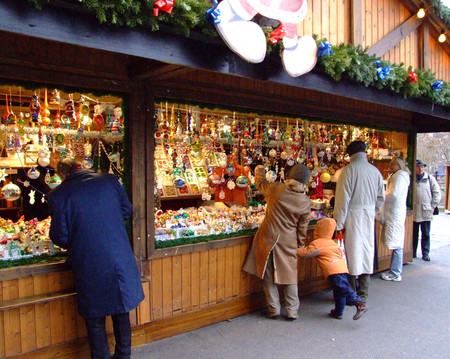 Рождественские ларьки — интересно все
