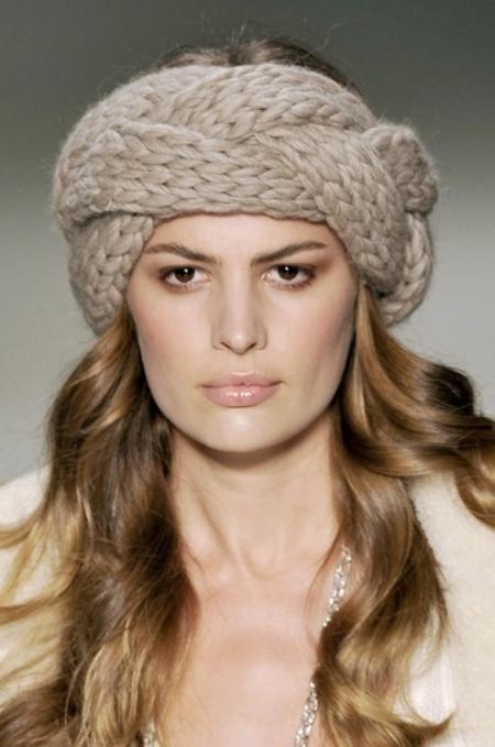 Модные повязки на голову — фото 4