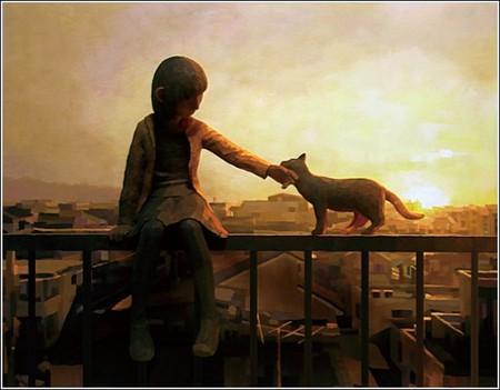 Счастливое детство в картинах-скульптурах Шинтаро Охато — фото 1
