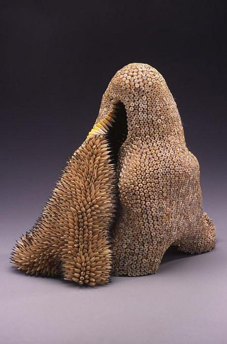 Скульптуры из карандашей от Дженифер Маестре — фото 3