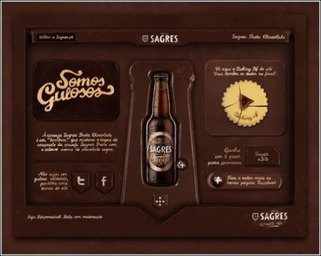 Необычная съедобная реклама пива — фото 1