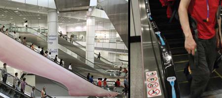 Реклама на лестницах и эскалаторах — фото 4