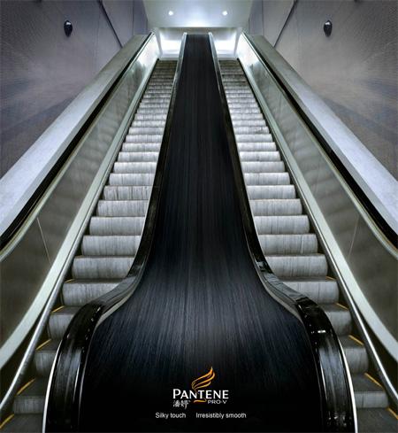 Реклама на лестницах и эскалаторах — фото 1