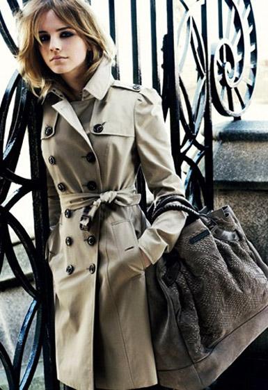 Как выбрать плащ — trench coat