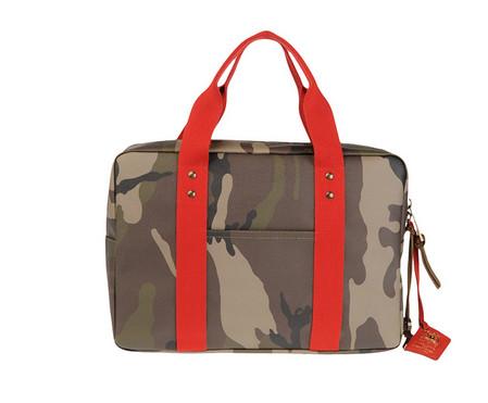 Набор дорожных сумок Red Camo Collection 2011 от Trussardi 1911 — фото 3