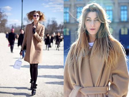 Бежевое пальто - элегантная классика — фото 1