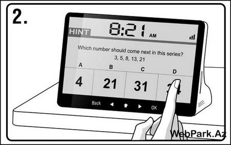 «Умный» будильник IQ Alarm Clock — фото 2
